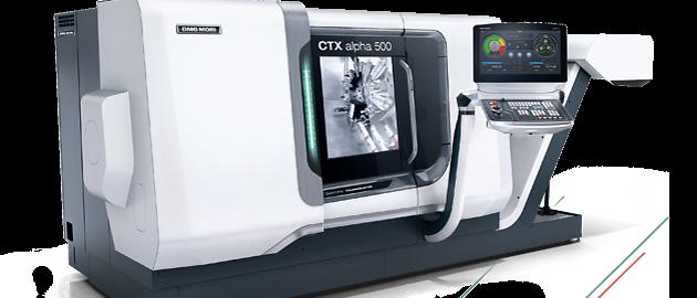 DMG CTX alpha 500
